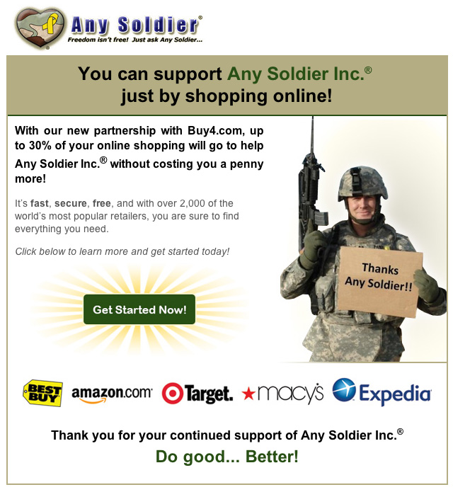 Any Soldier Inc. ... Help!